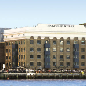 Pickford's Wharf building view
