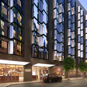 250 City Road Hotel CGI
