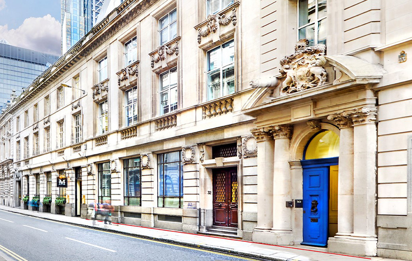 32 Threadneedle Street exterior view