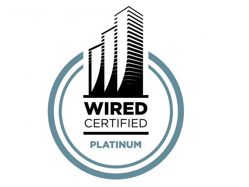 Platinum wired score logo
